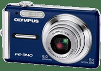 Olympus FE-340 Manual de usuario en PDF Español