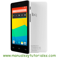bq Aquaris E4.5 Manual de usuario en pdf español bq store aquaris movil