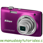 Nikon Coolpix S2800 Manual de usuario en PDF