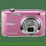 Nikon Coolpix S2600 | Manual de usuario en PDF Español