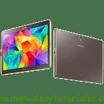 Samsung Galaxy Tab S Manual de usuario PDF español