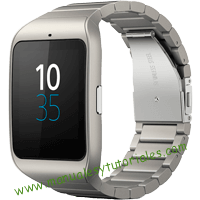 Sony Smartwatch 3 Manual de usuario PDF español