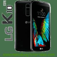 LG K10 Manual de Usuario PDF k10 specs software LG marca LG