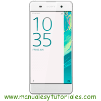 Sony Xperia XA Manual de Usuario PDF