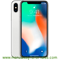 iPhone X Manual de Usuario en PDF español
