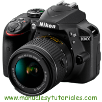 Nikon D3400 Manual de Usuario en PDF español