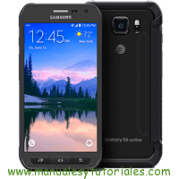 Samsung Galaxy S6 Active Manual de Usuario en PDF español