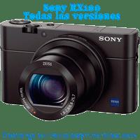 Sony DSC RX100 I II III IV V Manual de Usuario en PDF español