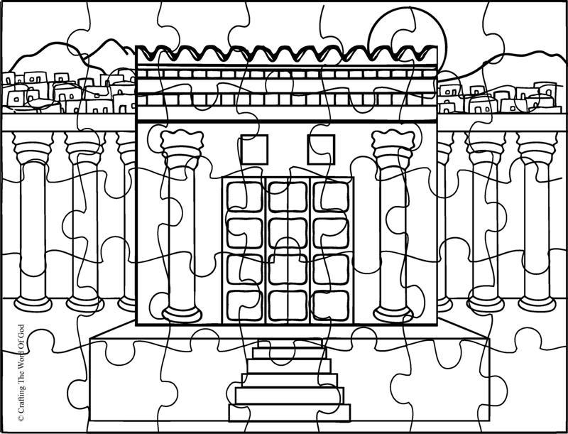 Reconstruyendo El Templo- Pagina De Actividades