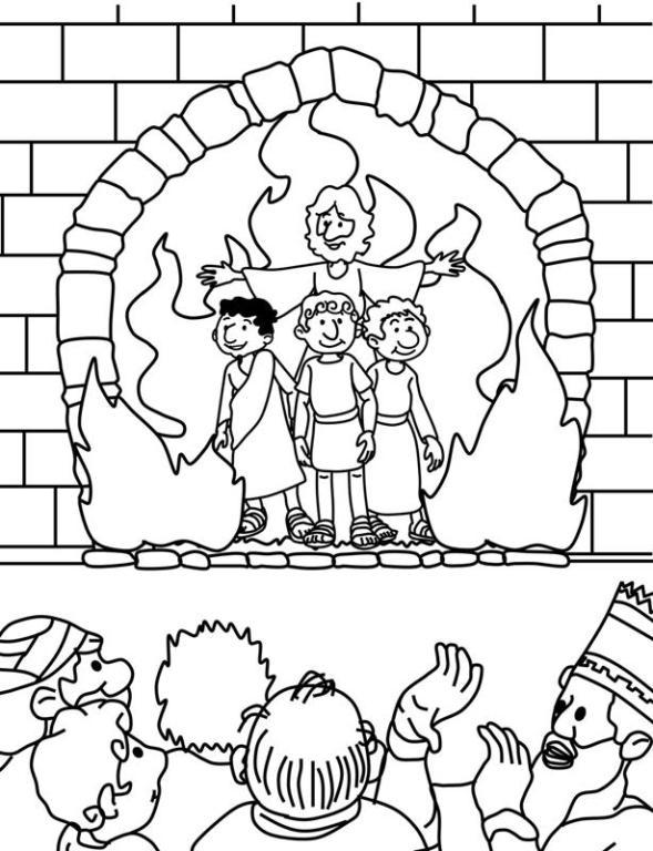 horno de fuego « Manualidades Biblicas