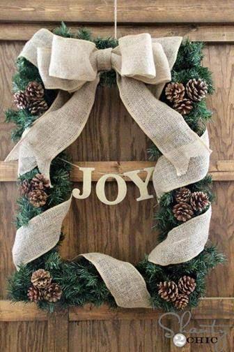 Cuadro decorativo de Navidad