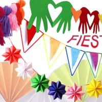 12 Guirnaldas FACILES para Decorar Fiestas
