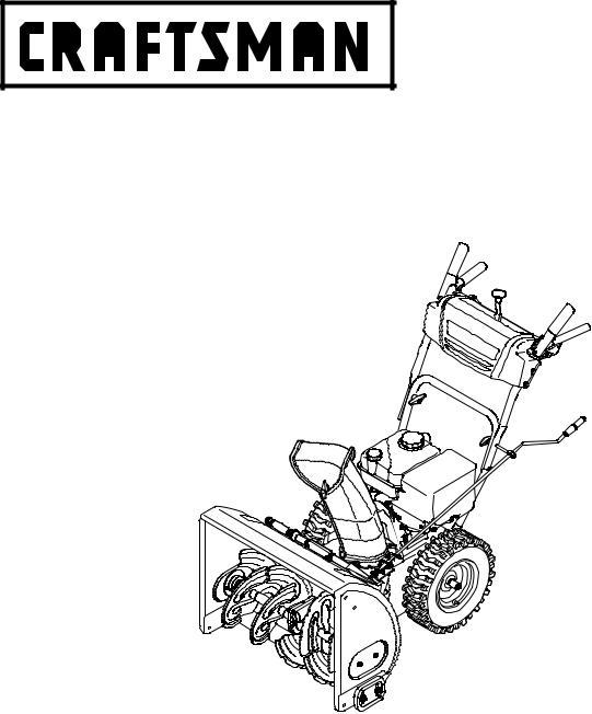Craftsman 247.88955 User Manual