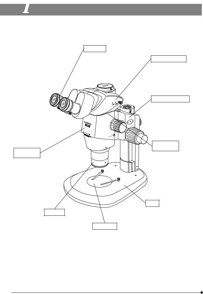 Olympus SZX16 User Manual