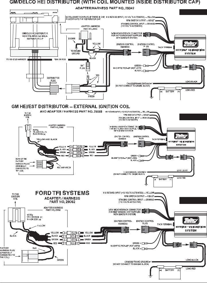 Mallory Ignition Wiring Diagram Unilite / 1970 Mach1