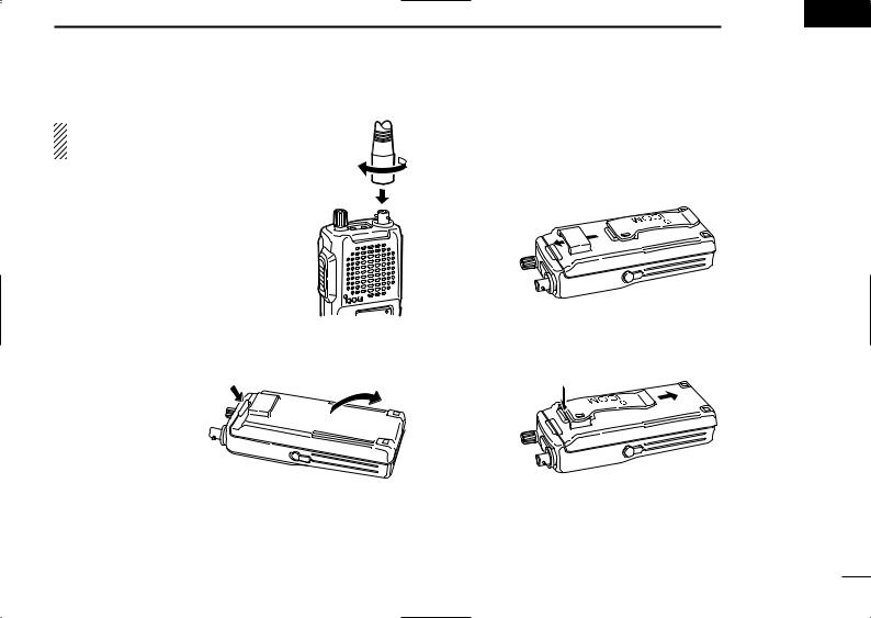 Icom IC-A4 V1, IC-A4 VER01, IC-A4 User Manual