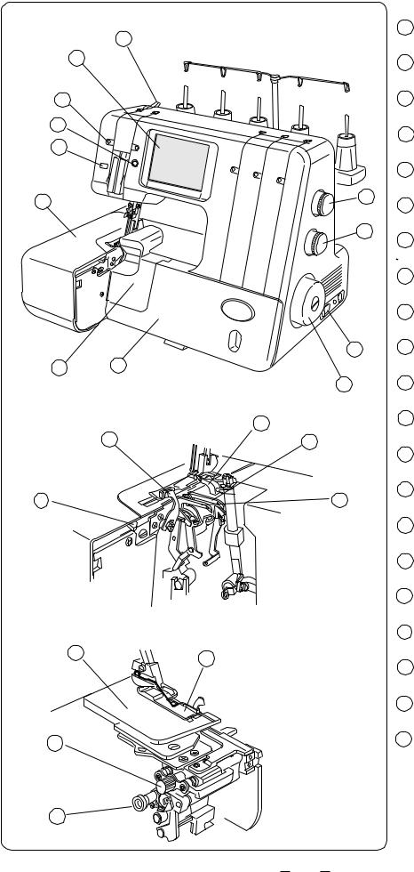 Janome Compulock 888 Instruction Manual
