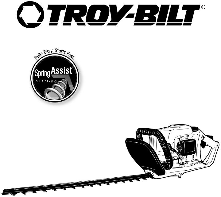 Troy-Bilt tb25ght User Manual