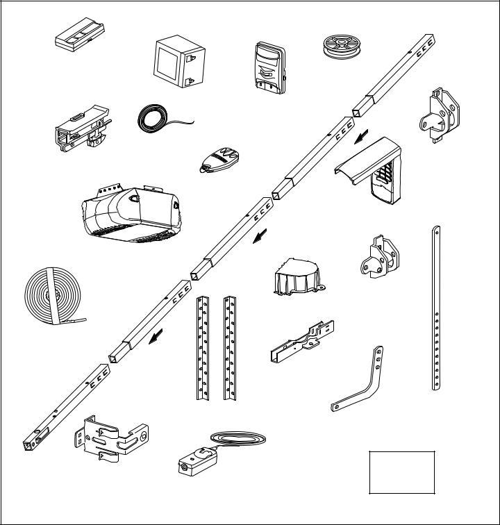 Chamberlain WHISPER DRIVE 248754, 248754 User Manual