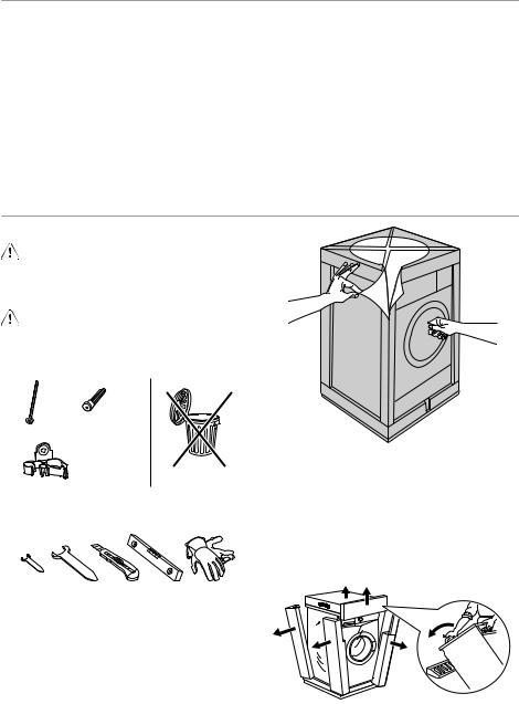 AEG-Electrolux EWP 127100 User Manual