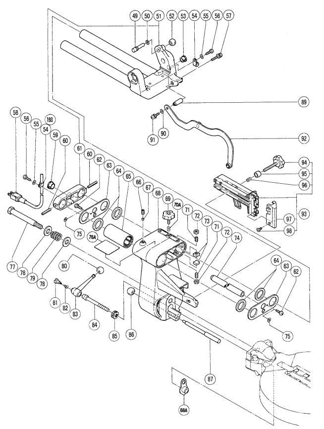 Hitachi C12FSA ELECTRIC TOOL PARTS LIST User Manual