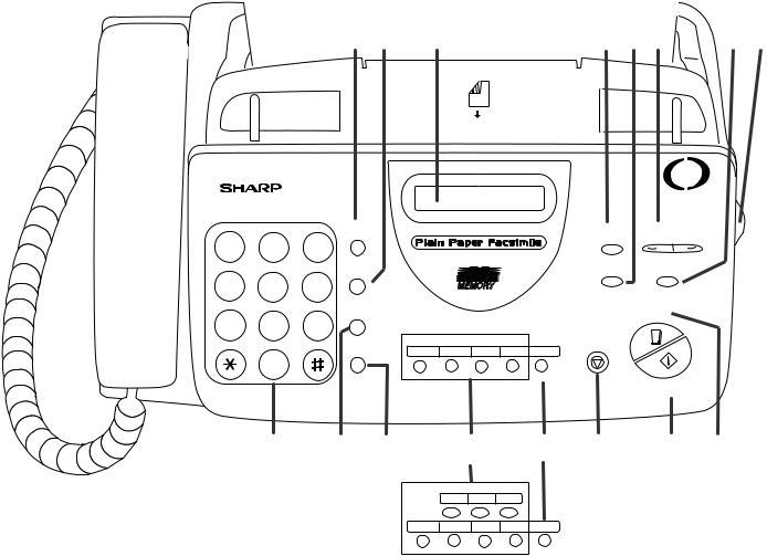 Sharp UX-345L, UX-340L, UX-330L User Manual