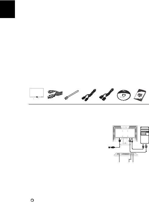 Acer V193WAB, V193WBB Quick Guide