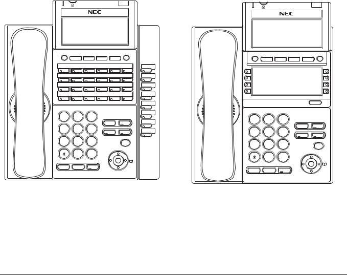 NEC DT730, DT710, DT330, DT310 User Manual