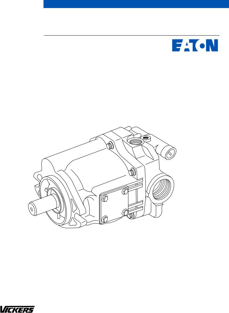 Eaton Electrical PVE12, PVE21, PVE19 User Manual