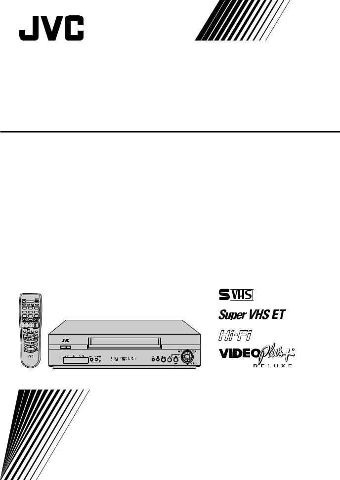 JVC HR-S6855EK, HR-S6857EK, HR-S6856EK User Manual