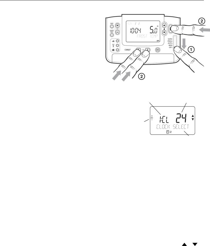 Honeywell cm921 User Manual