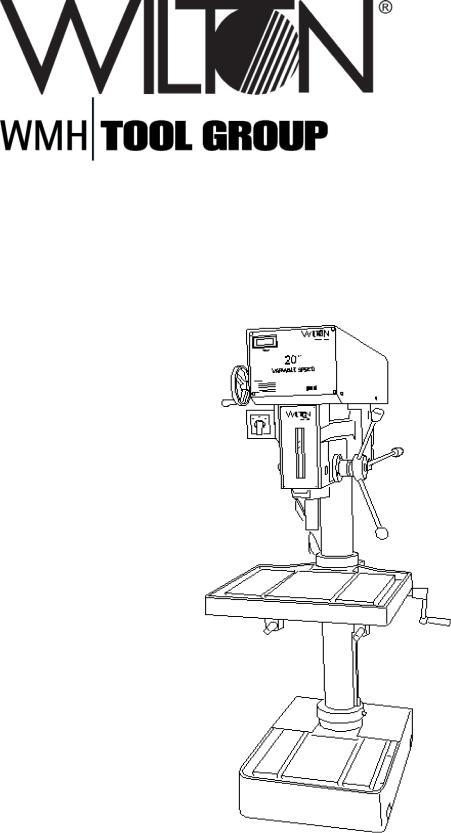 Wilton 2221VS User Manual