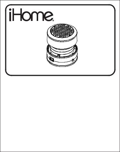 iHome IHM60GT, IHM60, IHM61W User Manual