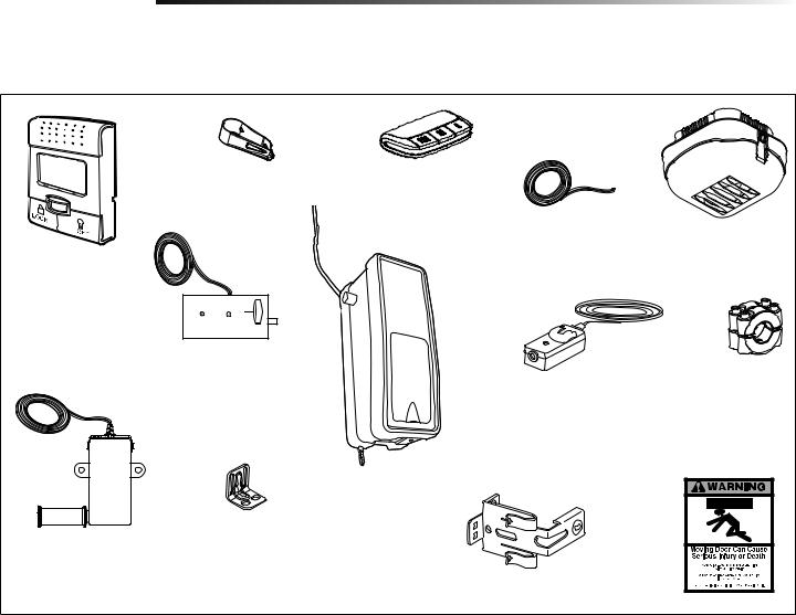 Liftmaster 3800PC User Manual