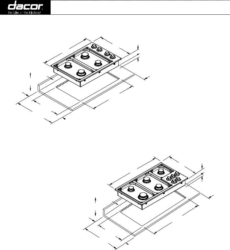 Dacor PGM304-1, PGM365-1 User Manual