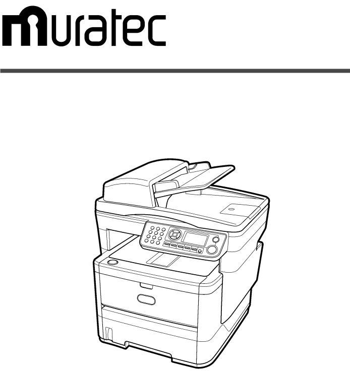 Muratec MFX-3090, MFX-3070 User Manual