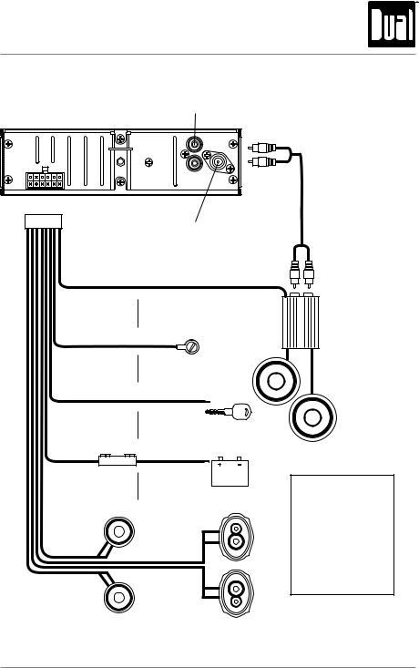 Dual XD1228 User Manual