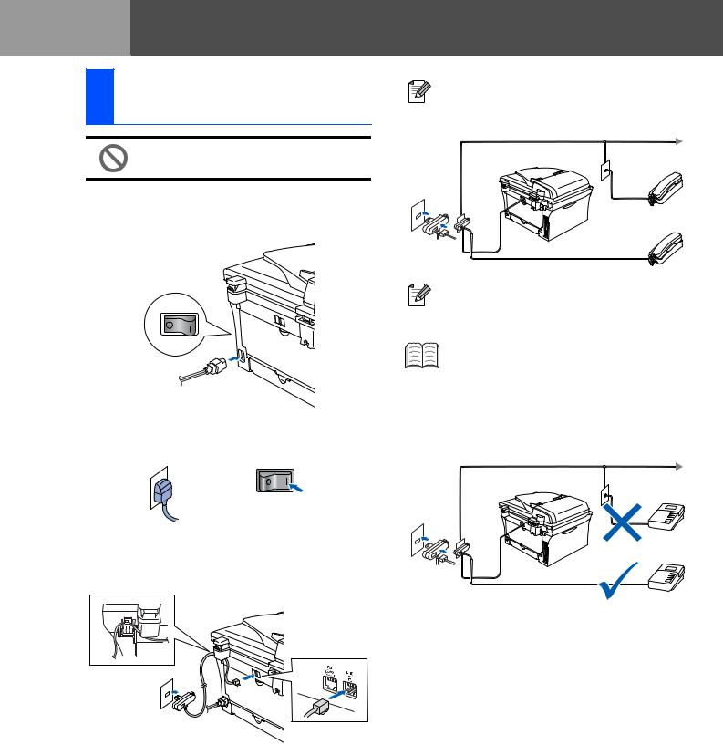 Brother MFC7820N, MFC-7420 User Manual