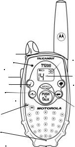 Motorola Talkabout T5100, Talkabout T5200 User Manual