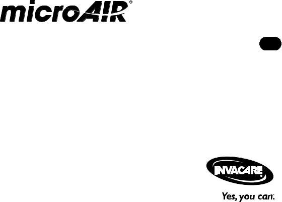 Invacare MicroAIR MA50 User Manual