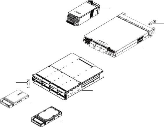 HP StorageWorks Carrier-Grade Modular Smart Array 2324fc