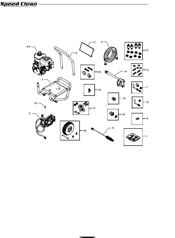 Briggs & Stratton Speed Clean 020212-1 User Manual