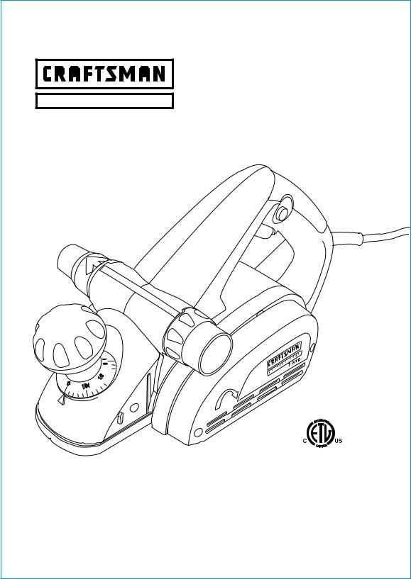 Craftsman 172.26729 User Manual