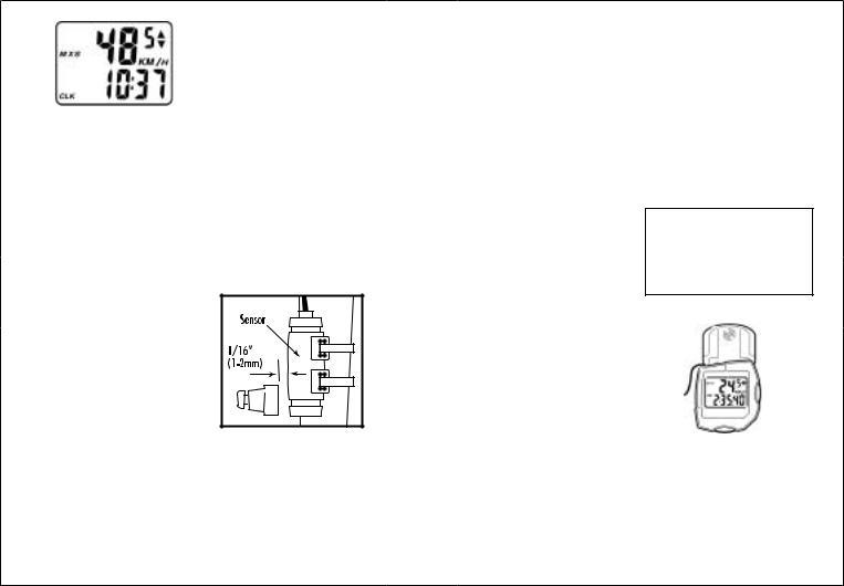 Gary Fisher AXIOM COMPUTER User Manual