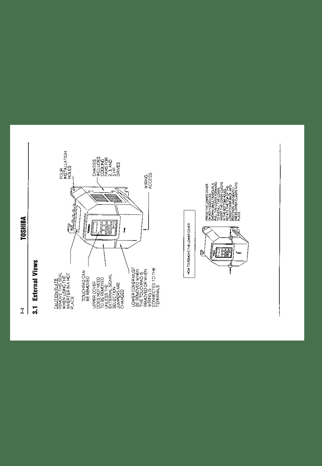 Toshiba VF-SX User Manual