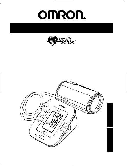 Omron INTELLISENSE HEM-711DLX User Manual