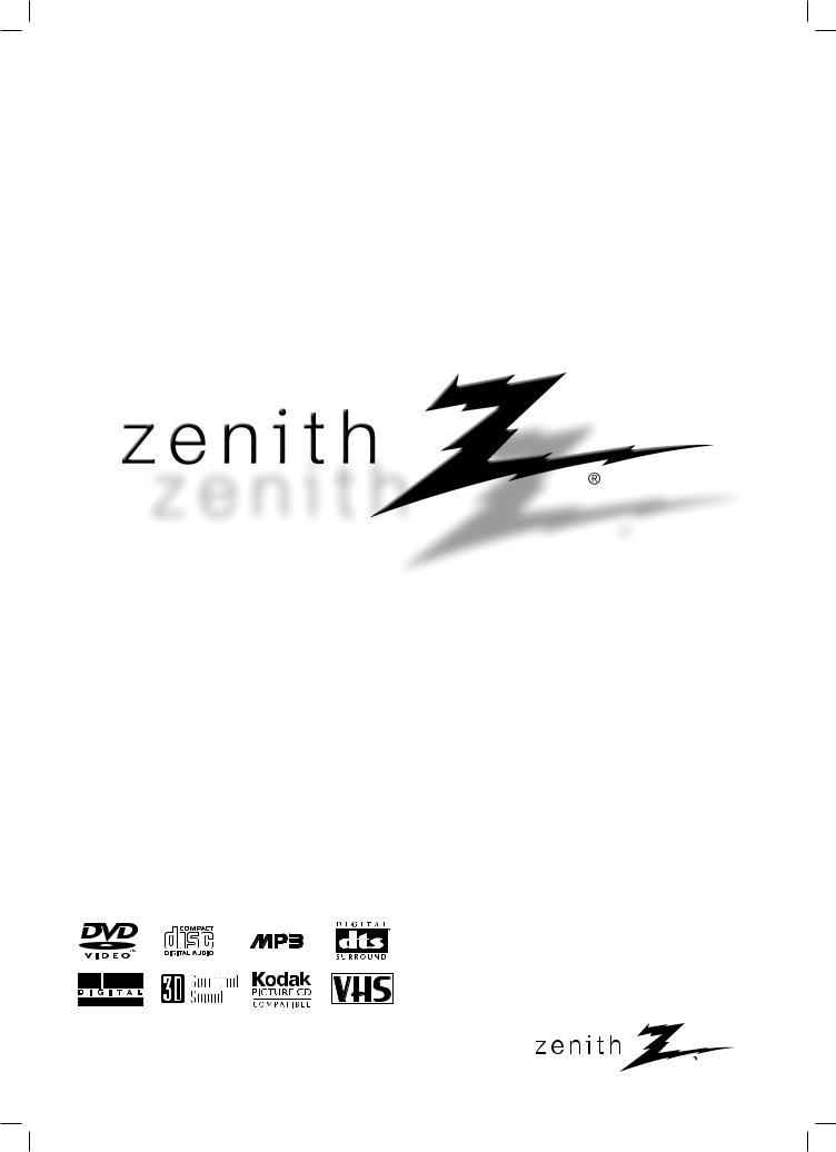 Zenith XBS344 User Manual