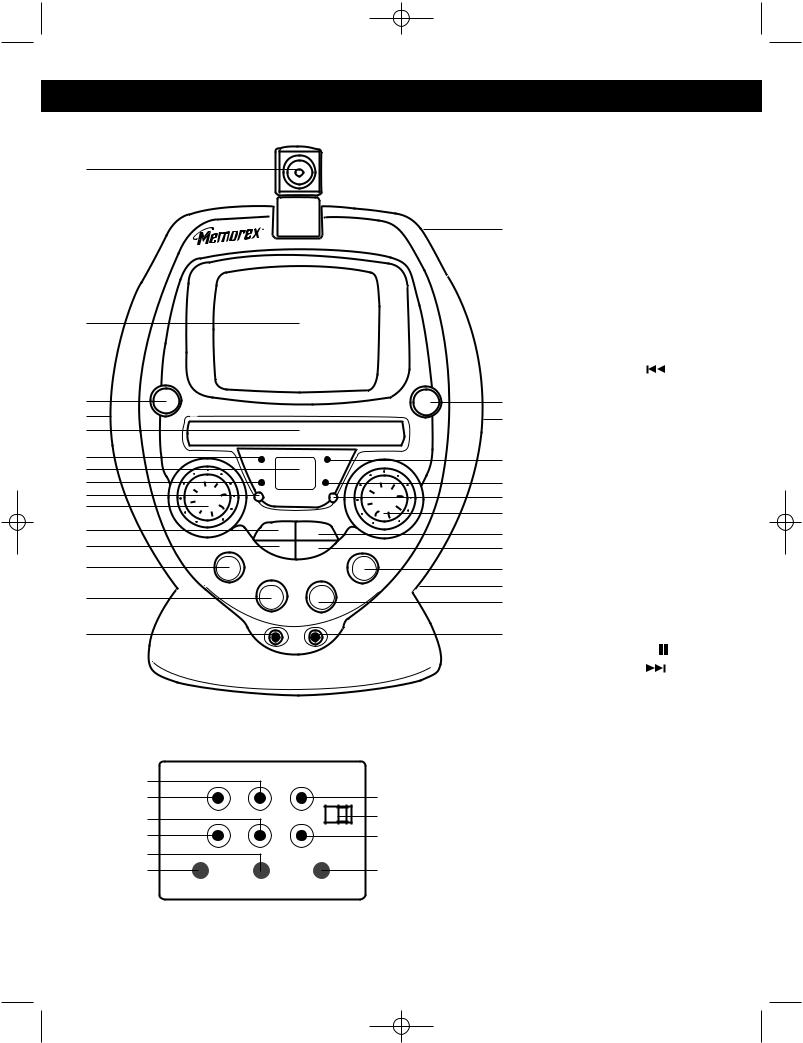 Memorex MKS8502 User Manual