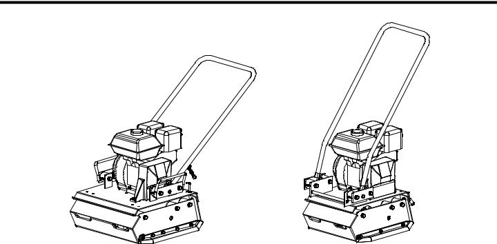 MBW SINGLE DIRECTION PLATES, GP3000-15, GP3000 User Manual