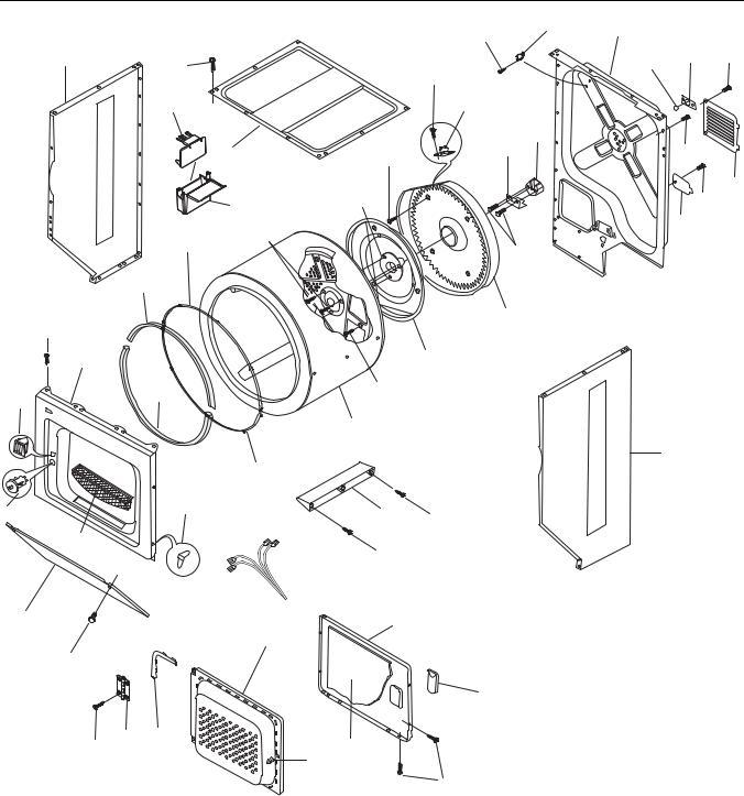Frigidaire FEX831F User Manual